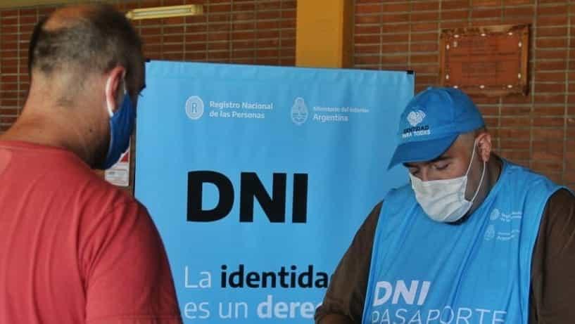 Operativos DNI: la documentación deberá retirarse en el Registro Civil