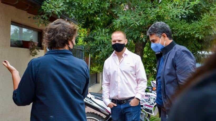 Jorge Macri visitó un emprendimiento en Cortínez