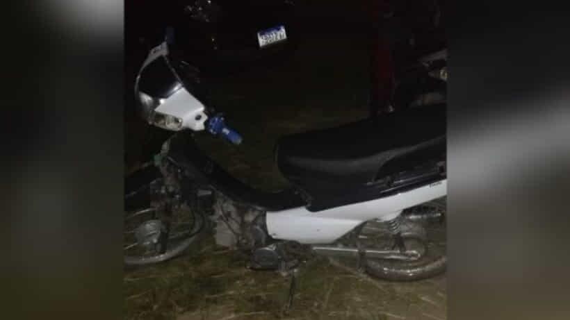 Atraparon a un joven que manejaba una moto con pedido de secuestro