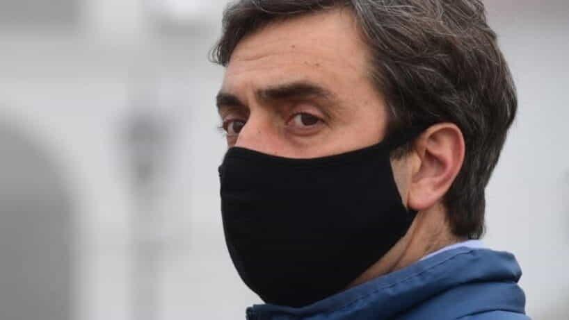 Leonardo Boto se aisló por un caso sospechoso en su familia