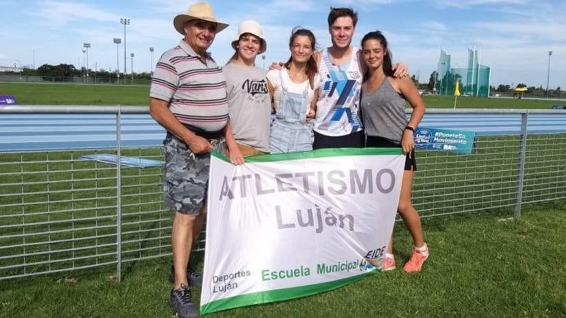 Atletismo: Luján tiene dos campeonas nacionales