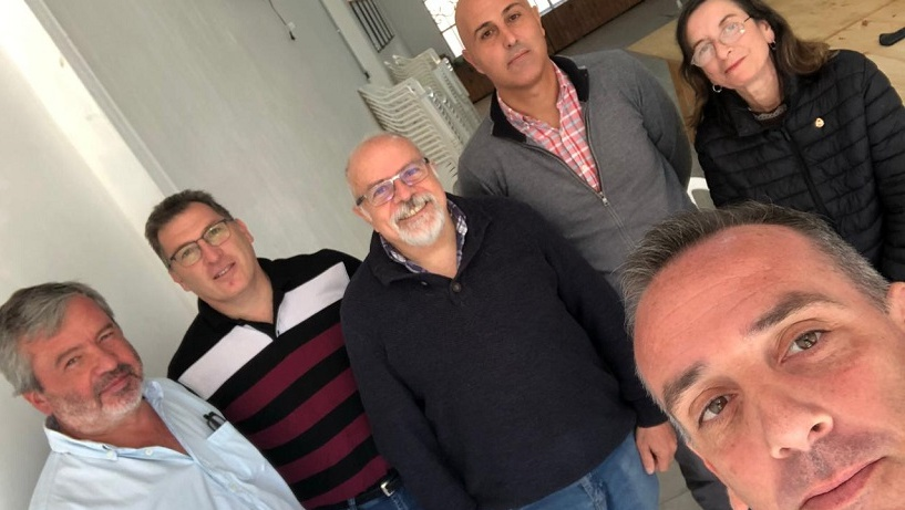 Pérez Naveiro se reunió con los concejales radicales
