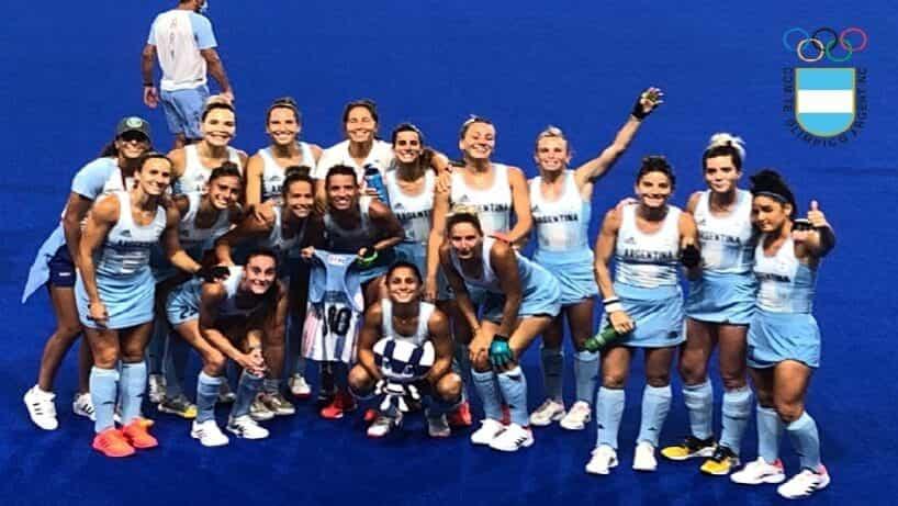 Doble victoria de «Las Leonas» para clasificar a Cuartos de Final
