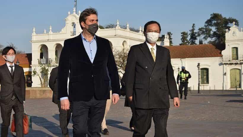 El embajador de Japón visitó Luján