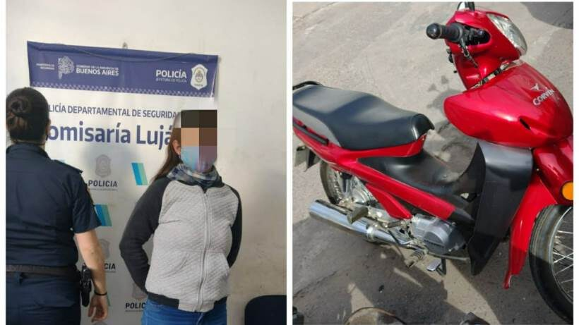 Recuperan una moto con pedido de secuestro