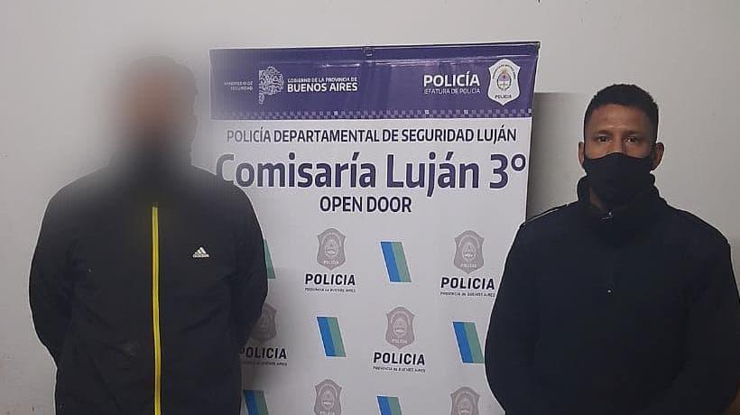 Atraparon a un delincuente condenado por venta de droga