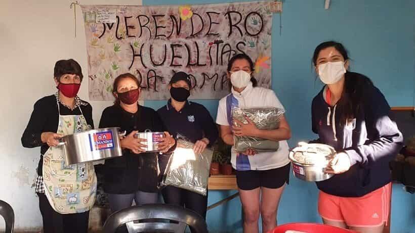 LRC Social visitó el merendero «Huellitas»