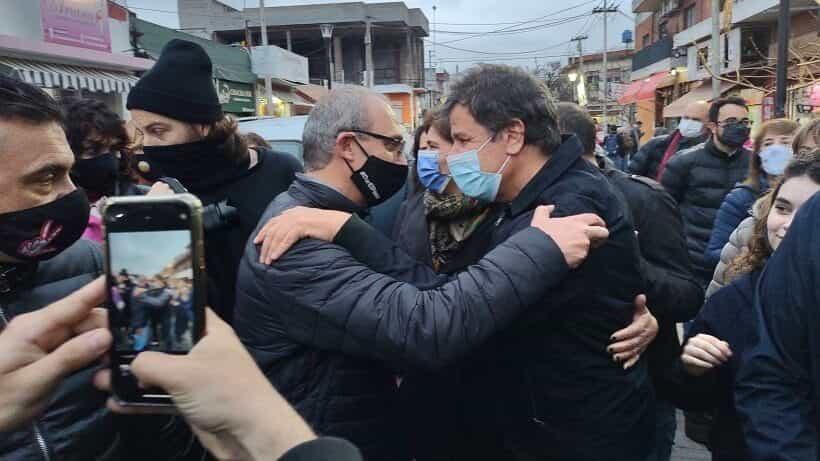 «Charly» Romero cerró su campaña junto a Facundo Manes