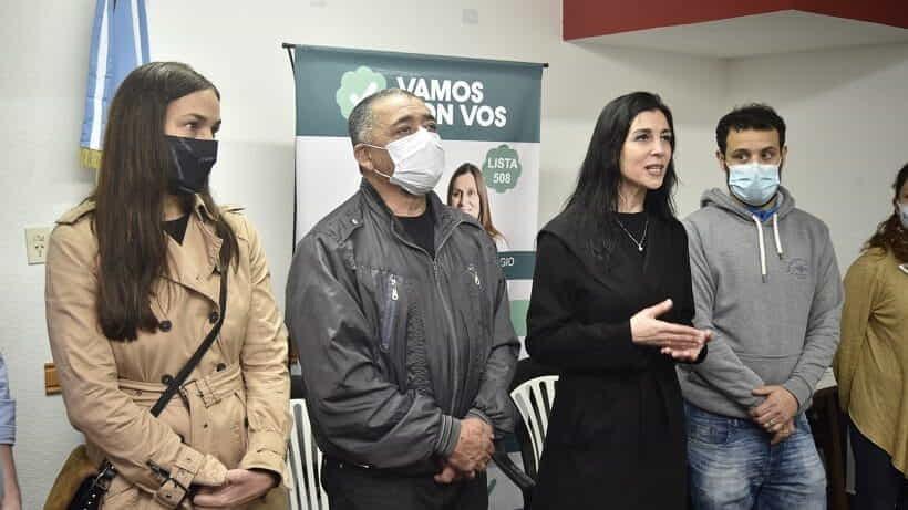 La precandidata Valeria Iglesias visitó Luján