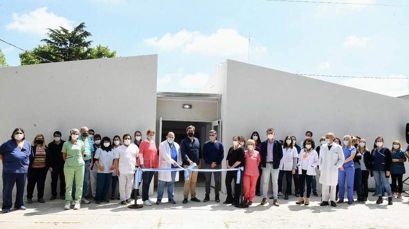 Inauguraron obras de ampliación y mejoramientos en el Hospital